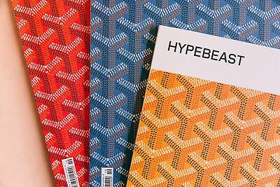 Hypebeast Magazine GOYARD COVER Issue 19 BLUE/YELLOW/RED