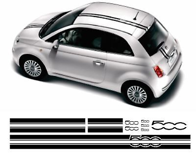 FIAT 500 Stripe Car Decal Vinyl Sticker Strip