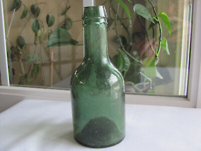 Iron Pontiled Soda Water Bottle Nice Green Color