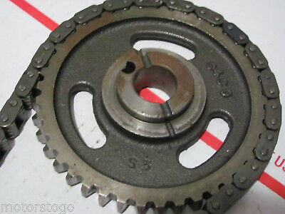 Mercruiser TIMING GEAR and CHAIN embossed S430