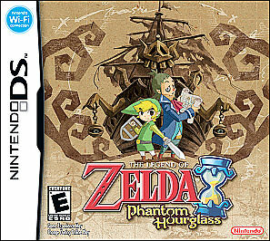 The Legend of Zelda: Phantom Hourglass (Nintendo DS, 2007) (complete)