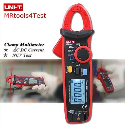 True RMS UNI-T UT210E AC/DC Current Mini Clamp Meters  Digital DC Clamp Multime