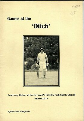 Games at the 'Ditch' Centenary History of Beech Forest's Ditchley Park Sports