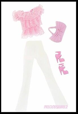 Barbie Doll Clothes - 4 piece set/Casual/Outfit/Clothing/Girl/Shoes/Bag/New