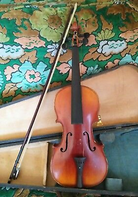 1905 Lyon & Healy Chicago Eureka 3/4 Violin Style G1008 With Case & Bow