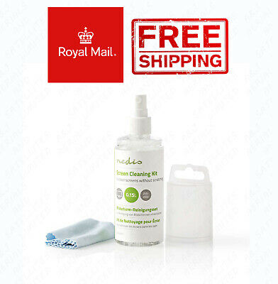 TV and Smart Media Screen Cleaner Kit 150 ml / with Microfiber Cleaning Cloth