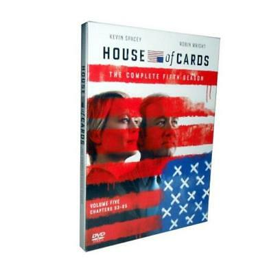 House of Cards Season 5 (DVD, 2017, 4-Disc Set) Brand New Sealed