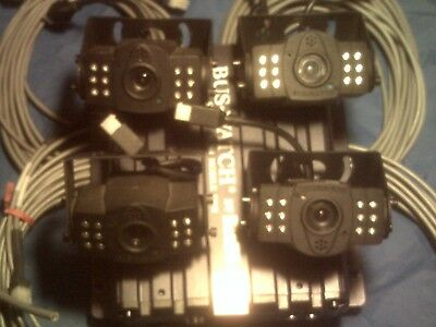 REI BUS-WATCH® DVR SD40  with 4 cameras, 4 cables, SD 32 GB card, and power cord