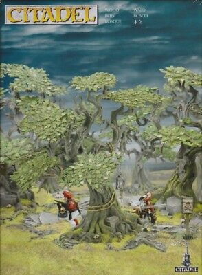 Games Workshop Forest From Citadel - Warhammer Age of Sigmar 40.000 Terrain