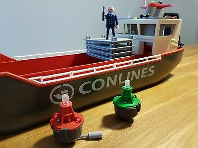 Playmobil 4472 Conlines, großes Containerschiff