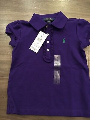 Girls Ralph Lauren polo shirt