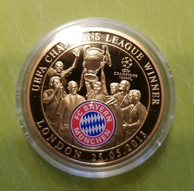 Münze Fc Bayern Champions League Winner London 25052013 Eur 10