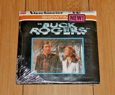 Buck Rogers 1980 Gaf Viewmaster Reels Set L15 Rare * Sealed / Unopened *   A308