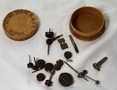 Assorted Lot Of Small Lathe Parts Attachments Accessories Very Good Condition