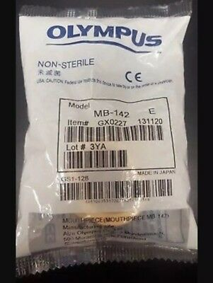 MB-142 Olympus Bite Mouth Guard Mouthpiece Biteblock **Sealed / New In Package**