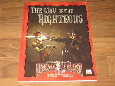 Deadlands d20 The Way of the Righteous Sourvebook Pinnacle 2003 PIN 1116