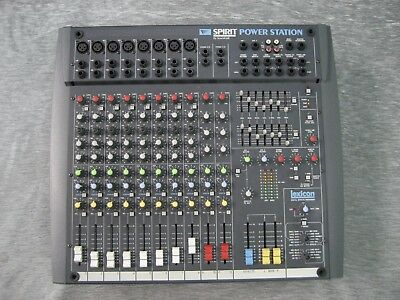 Mischpult Soundcraft - Power Mixer Spirit Power Station Soundcraft