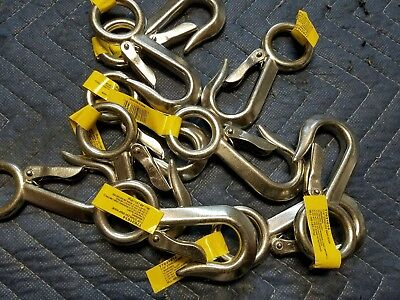 """Campbell Chain Snap Hook 400Lb 1-1/8"""" - lot of 10"""