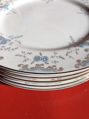 Imperial China Dinner Plates 5 Piece Set Seville Made In Japan