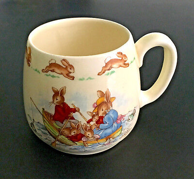 Royal Doulton Vintage Bunnykins Cup or Mug by Barbara Vernon