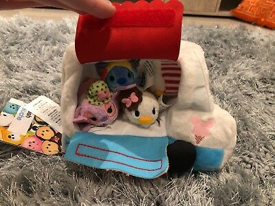 Ice Cream Truck with 4 Mini Tsum Tsum Disney Store Complete with Tag