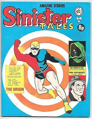 Sinister Tales #120 (Alan Class) very high grade, ACG, Tower, Charlton strips