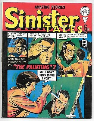 Sinister Tales #115 (Alan Class) very high grade, ACG + Giant-Man strips
