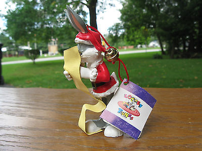 1996 Looney Tunes ( Bugs Bunny ) Christmas Ornament
