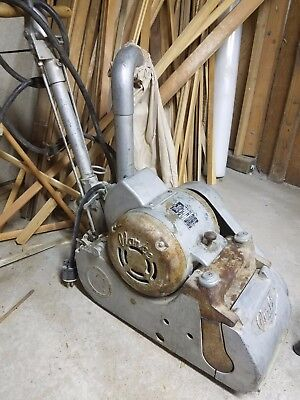 Vintage Clarke industrial Drum wood floor sander stripper refinishing