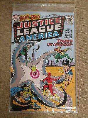 Justice League of America First Appearence DC reprint + Zertifikat Comic