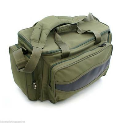 Brand new - Carp Fishing Green Carryall Tackle Bag insulated Holdall NGT 909