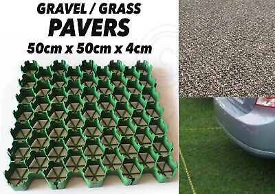 80 x Gravel or Grass GRID Paver Base Path Greenhouse Deck Lawn Gravel Driveway