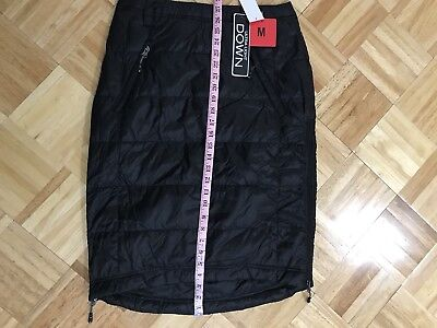 Ultra Light Down Skirt Black Size Medium