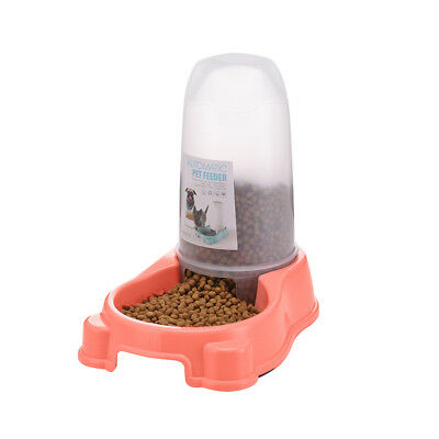 Automatic Pet Feeder Dog Cat Food Water Self Feeding Bowl Dispenser *1