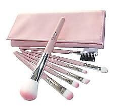 Professionele Set 7 stuks make-up borstels met geval