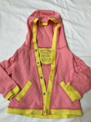 Patagonia Baby Cozy Cotton Hoodie, 6-12 Months