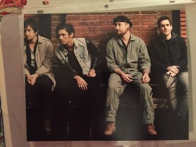 ALL AMERICAN REJECTS MIKE KENNERTY GUITARIST SIGNED AUTOGRAPH 8x10 PHOTO C