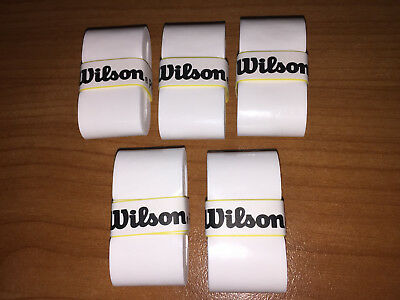 5x WILSON PRO Overgrip - FAST Free Postage - Overgrips over grip - tennis tapes