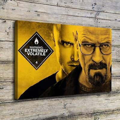 "breaking Bad Painting HD Canvas Print 24""x36"" Home Decor Room Wall Art Picture"
