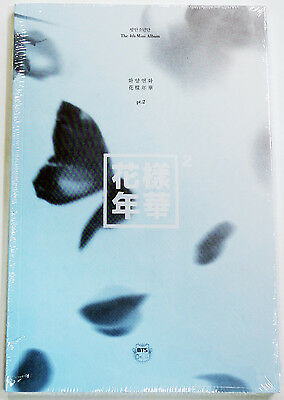 BTS - In The Mood For Love PT.2 [BLUE ver.] CD+Photo Booklet+Photocard+Poster