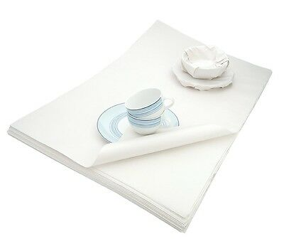 WHITE LUXURIOUS ACID FREE TISSUE PAPER - 50cm x 75cm - PRESERVING ANTIQUES