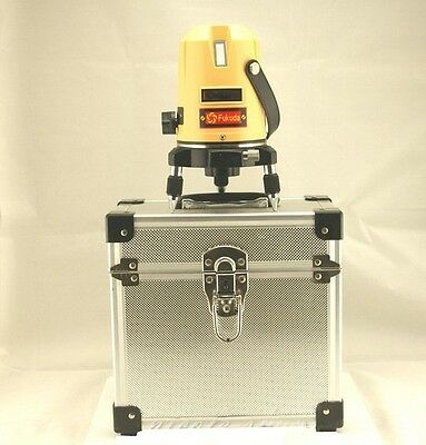 Fukuda Automatic Self Leveling 5 Line 1 Point 4V1H Laser Level EK 455P