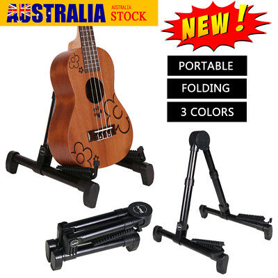 Adjustable Folding Guitar Floor Stand A Frame Electric and Acoustic Guitar Stand