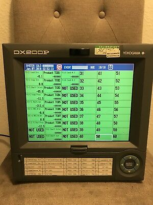 Yokogawa DX200P Style S5 Digital Panel Recorder