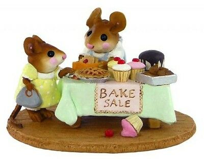 MOUSEY'S BAKE SALE by Wee Forest Folk, WFF# M-220, GREEN