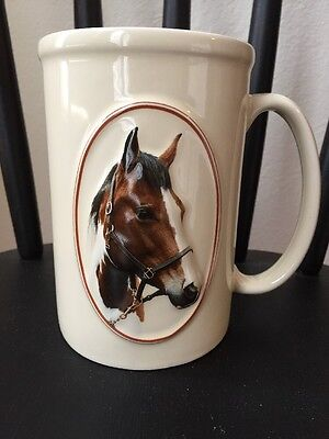 "Equine Expressions ""PAINT HORSE"" Horse Mug Face Saying Animal Coffee Tea NEW"