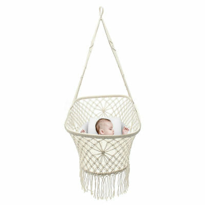Baby Hammock Hanging Crib Cradle Cot Sleep Bed Swing Seat Outdoor Home Travel