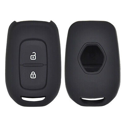 2 Button Silicone Car Key Cover Case For Renault Dacia kwid Sandero Trafic