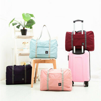 Big Foldable Travel Luggage Storage Carry-on Organizer Hand Shoulder Duffle Bags