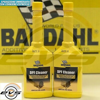 2 x250ml Additivo Pulitore Filtro Antiparticolato FAP Diesel BARDAHL DPF CLEANER